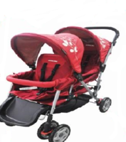 Baby Star MaMalove 孖B車 雙人 兄弟 初生 嬰兒 手推車 bb 車BK09B