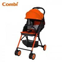 Combi F2 Plus AF 特價 輕量 高坐位 單手收車 嬰兒 手推車 bb 車 橙色