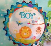 B17 18寸BB款 百日宴氦/氫氣球 Baby Party Balloon (現貨)