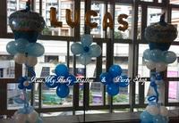 B072 百日宴 生日會氣球場地佈置 Balloon Decoration 包職員到場安裝及九龍區免運費