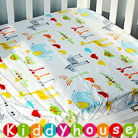 優質純棉嬰兒床笠 NP086