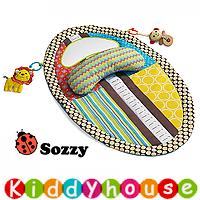 bb嬰兒玩具/禮物精選~Sozzy防水隔尿嬰兒Tummy Time爬行遊戲墊 T181