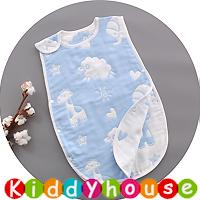 BB嬰兒用品~6層純棉紗布防踢被背心睡袋45cmx80cm BB1456 現貨