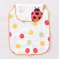 【限時特價】bb嬰兒用品~優質5層紗布大號墊背吸汗巾(甲蟲) BB1374 現貨