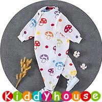BB嬰兒用品~6層純棉紗分腿型可拆袖防踢被睡袋(M碼) BB1464 現貨