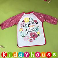嬰兒bb用品~可愛有趣動物圖案幼童飯衣/口水肩/小圍裙 BB1435  現貨