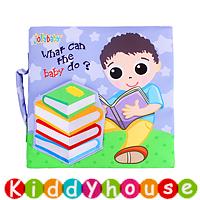 bb嬰兒玩具~多功能立體場景早教嬰兒布書 T547 現貨
