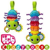 bb嬰兒玩具/禮物精選~玩具繽紛毛毛蟲拉伸音樂玩具床掛/車掛/吊飾 T305 現貨