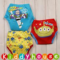 bb嬰兒用品~嬰幼兒三層棉質防水學習/戒(介)片/隔尿褲(3條套裝) BB1152 現貨