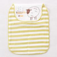 【限時特價】bb嬰兒用品~優質5層紗布大號墊背吸汗巾(小羊) BB1372 現貨