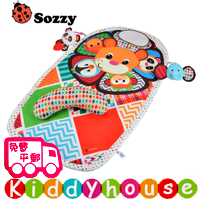 bb嬰兒玩具~Sozzy可愛動物Tummy Time防水遊戲學爬利墊 T377 現貨