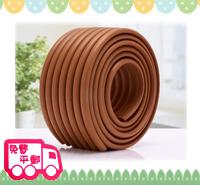 嬰兒家居安全用品~優質多功能聚脂防撞膠條-彷木色 OT022 現貨