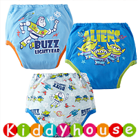 bb衫~嬰幼兒三層棉質防水學習/戒(介)片/隔尿褲(3條裝) BB1233 現貨