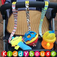 bb嬰兒用品~Lemommon玩具/奶嘴防掉帶加長版(3色選) OT062 現貨