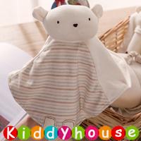 bb嬰兒玩具~可愛小熊安撫巾 T502 現貨
