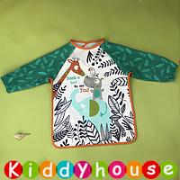 嬰兒bb用品~可愛有趣動物圖案幼童飯衣/口水肩/小圍裙 BB1436 現貨