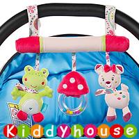 bb嬰兒玩具/禮物精選~可愛青蛙小鹿車床掛/吊飾 T418 現貨