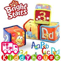 bb嬰兒玩具/禮物精選~盒裝可愛動物寶寶發育必備智力布積木 T267 現貨