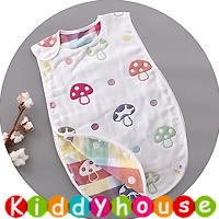 BB嬰兒用品~6層純棉紗布防踢被背心睡袋40cmx60cm BB1457 現貨