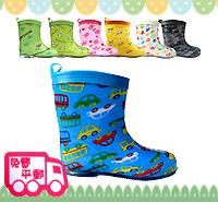 開學用品開倉~清貨特價!日單ConBrio優質童裝中筒兒童雨鞋/水鞋Rainboot KB0278 現貨