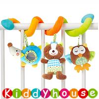 bb嬰兒玩具~可愛小動物音樂車床繞 T530 現貨