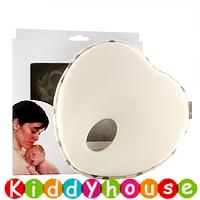 bb嬰幼兒用品~嬰兒防偏頭記憶枕頭(米白色) OT107 現貨