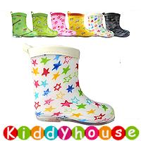 【清貨特價】日單ConBrio優質童裝中筒兒童雨鞋/水鞋Rainboot KB0279 現貨