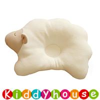有機棉小綿羊造型嬰兒防偏頭定型枕頭(韓國制)  OT171 現貨