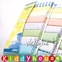 特價!BB嬰兒用品~純棉料喂奶巾/毛巾/口水巾/手帕(8片裝) BB848 現貨
