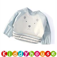 嬰兒bb用品~新款可愛EVA防水幼童口水肩 小圍裙飯衣(L碼) BB1500 現貨