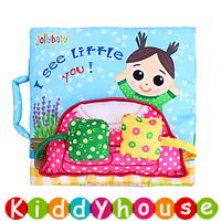 bb嬰兒玩具~多功能立體場景早教嬰兒布書 T546 現貨