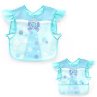 BB嬰兒用品~可愛卡通EVA防水帶兜口水肩(冰雪奇緣) BB1080 現貨