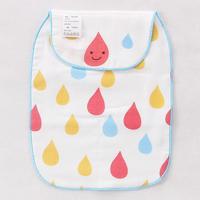 【限時特價】bb嬰兒用品~優質5層紗布大號墊背吸汗巾雨點) BB1373 現貨