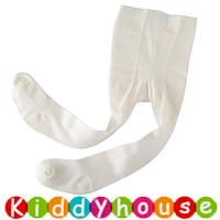 bb嬰兒用品~白色斜紋初生嬰兒襪褲Legging S399 現貨