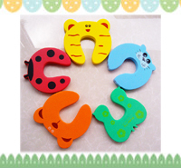 嬰兒家居安全用品~可愛造成防夾手門卡(9色選) OT011 現貨