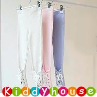 【清貨特價】!女童服裝~時尚綁帶打底褲/Legging 現貨 KB0133