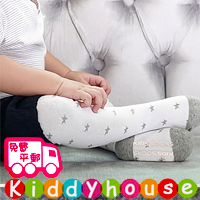 【NEW】bb嬰兒用品~優質小公主/小王子星星防滑襪褲 legging (白) S326 現貨