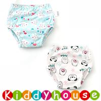 bb嬰兒用品~特大碼嬰幼兒四層純棉紗布質地防水學習/(介)戒片/隔尿褲(2條裝) BB1504 現貨