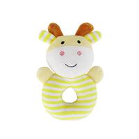 bb嬰兒玩具~JJovce 可愛小動物手搖鈴環安撫玩偶 T475 現貨