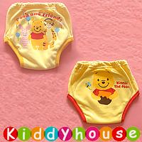 bb衫~原單嬰幼兒三層棉質防水學習/戒片/隔尿褲(2條裝) BB1237 現貨