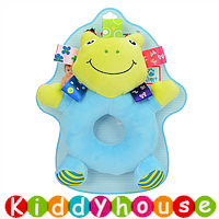 bb嬰兒玩具/禮物精選~Sozzy新款可愛小青蛙BB手搖鈴小玩偶 T238 現貨