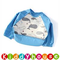 嬰兒bb用品~新款可愛EVA防水幼童口水肩 小圍裙飯衣(L碼) BB1498 現貨
