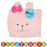 bb嬰幼兒用品~Sozzy可愛動物立體嬰兒肚圍/腹卷(粉小兔) BB1182 現貨