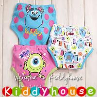 bb嬰兒用品~嬰幼兒三層棉質防水學習褲/戒片褲/隔尿褲(3條裝) BB960 現貨