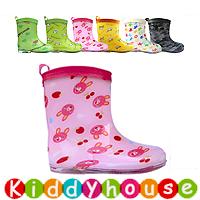 【清貨特價】日單ConBrio優質童裝中筒兒童雨鞋/水鞋Rainboot KB0280 現貨