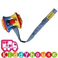 bb嬰兒用品~ Lemommon玩具/奶嘴防掉帶(牛仔藍波點) OT086 現貨