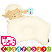 bb嬰幼兒用品~Sozzy可愛動物造型嬰兒防偏頭定型枕頭(小羊) OT110 現貨