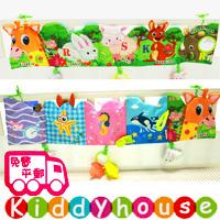 bb嬰兒玩具~JollyBaby 多功能字母動物園雙面色彩BB床圍/布書(長頸鹿) T355 現貨