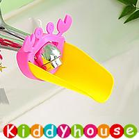 BB嬰兒用品~Loopy Gear可愛小螃蟹水龍頭伸延器(粉紅)  OT172 現貨
