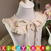 嬰兒用品~百日宴 派對襯衫推介 韓款公主純棉田園風蕾絲頸圍 領巾 BB1158 現貨